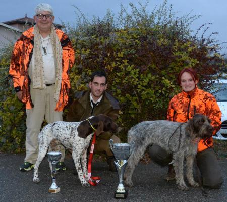 finalistes Saint Hubert 2018