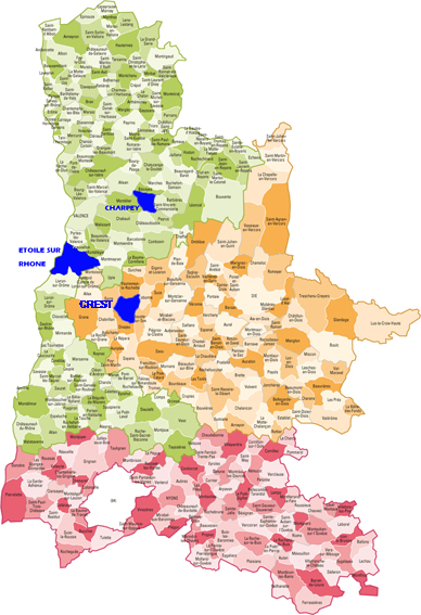 Carte des communes drome copie